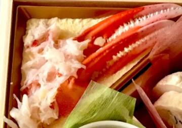 オイシックスのおせち料理「ずわい蟹とコーンクリーム和え」