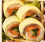 オイシックスのおせち料理「鯖旬菜金紙巻」